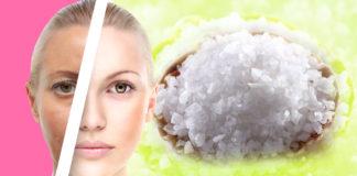 მარილი - სუპერეფექტური საშუალებაა მოკლე დროში კანის გაახალგაზრდავებისთვის