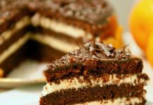 """შოკოლადის ტორტი კეფირზე """"ფანტასტიკა"""":იდეალური დესერტი მეგობრებთან დასაჯდომად"""